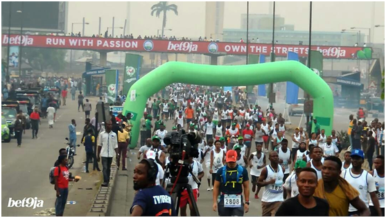 BET9JA WANTS LAGOSIANS TO OWN THE STREET FOR ACCESS BANK LAGOS CITY MARATHON 2018