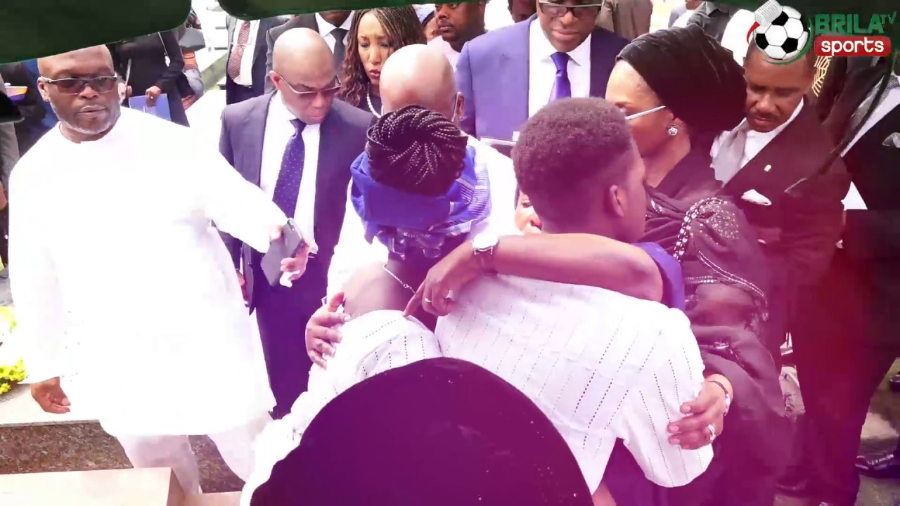 Tinubu buried amidst Tears and Encomiums in Lagos (Video)