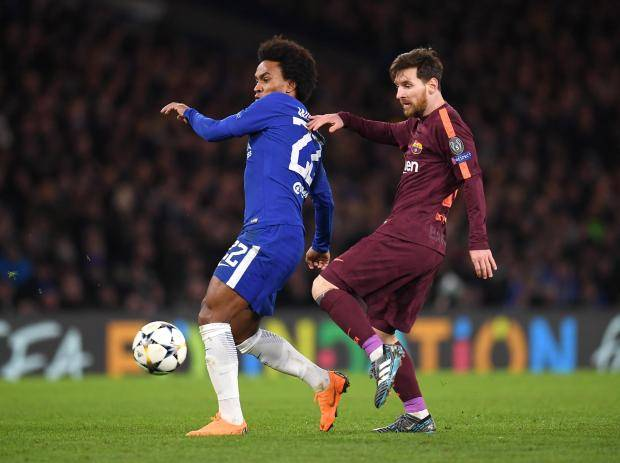 Willian: Chelsea deserved to beat Barcelona