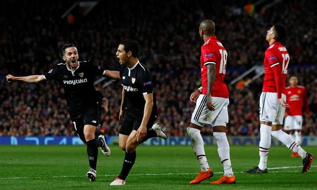 Sevilla knock Manchester United out of Champions League