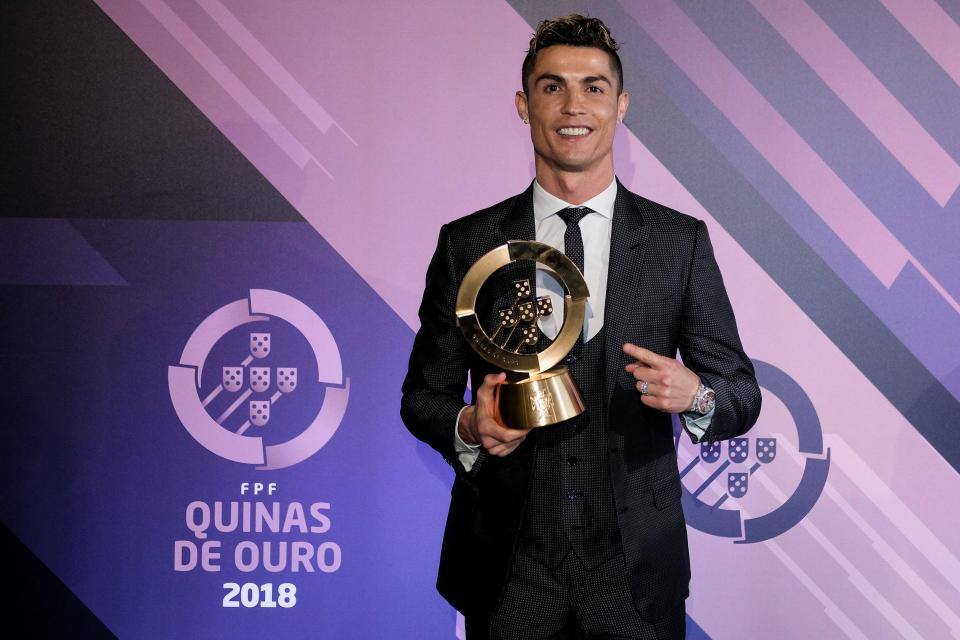Cristiano Ronaldo and Mourinho win big honours at Portuguese Football awards