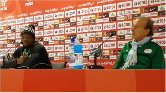 Masseuse Barred! Gernot Rohr reads Riot Act ahead of World Cup