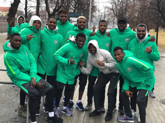 Jolly Good Snacking! How Super Eagles are preparing for Poland