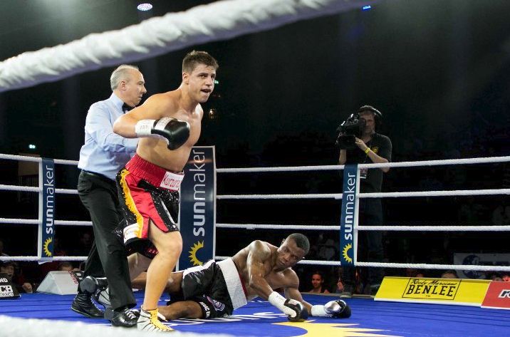 Down and Out! Isaac Ekpo Koed in Second Round, as Zeuge Retains WBA title