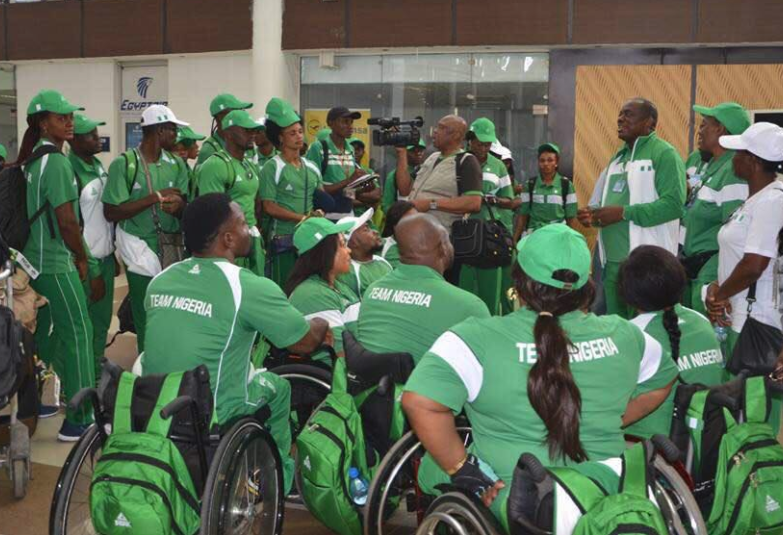 XXI Commonwealth Games: Team Nigeria in Australia