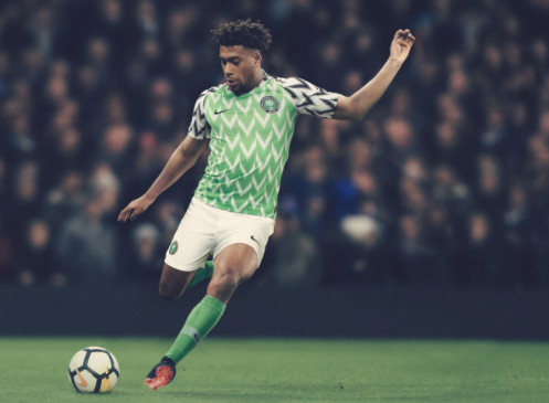 Super Eagles to File out in Feather Patterned Jersey against Serbia