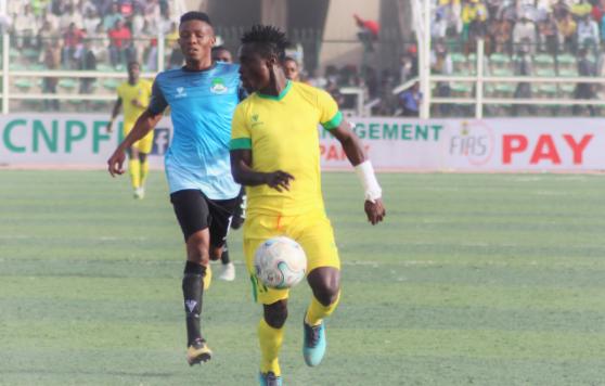 """Junior Lokosa """"Fully"""" focused on Pillars amid Super Eagles prospects"""