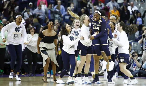 Mamba Mentality! Ogunbowale's OT Buzzer Shot sends Irish to NCAA Women's Final