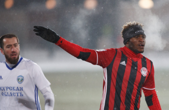 Olanare Scores Brace in comeback win for Amkar, Idowu and Ogude play 90 minutes