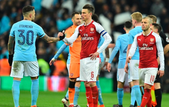 Deliver Us! Arsenal's Captain 'broke down in tears' after City defeat