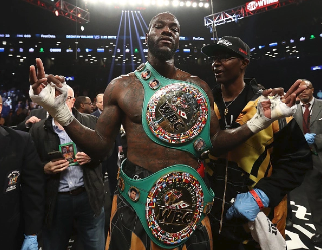 There'll Be One Champion! Wilder Calls Out AJ after 40-0 win