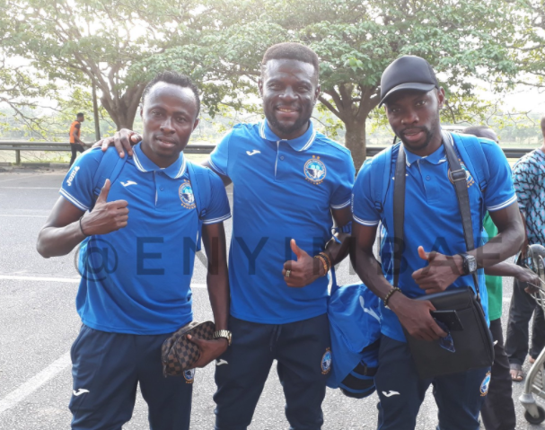 CAF CC: Aba Elephants Fly to Cotonou ahead of Wednesday's Match
