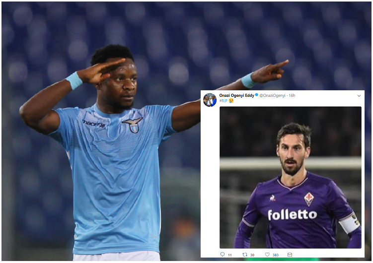 Onazi mourns former Fiorentina Captain