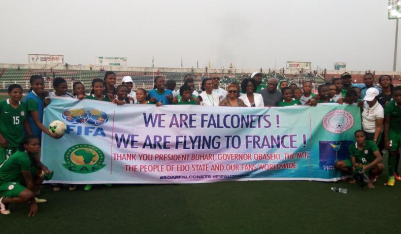 FIFA U20 Women's World Cup: Falconets get Bogey Team Germany, China and Haiti