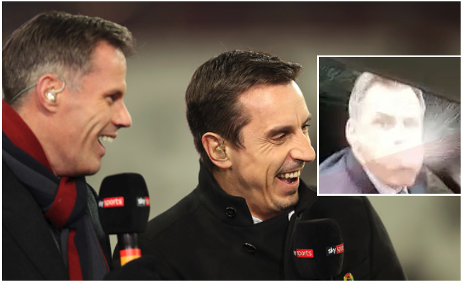 Liverpool Legend Spits at Teenage Man United Fan and her dad following Old Trafford defeat