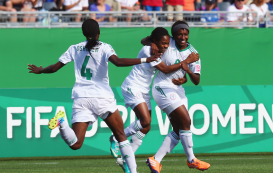 Falcons thrash Ivorian women League champions 'Eleven sister De Gagna' 4-0