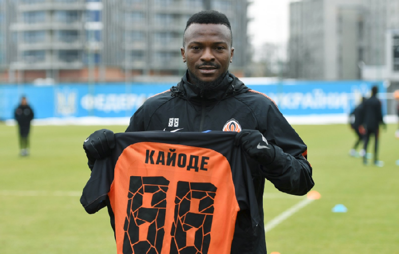Super Eagles Striker ready for Shakhtar Donetsk debut