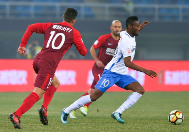 Mikel Obi inspires Tianjin Teda to first league win