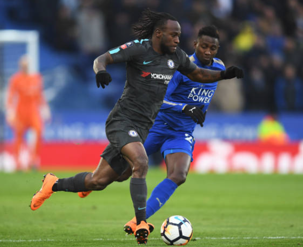 Ndidi, Iheanacho bow to Moses in FA Cup