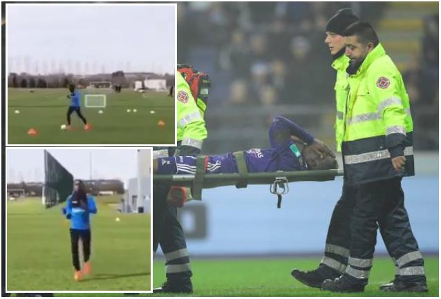 Henry Onyekuru's Knee Ligament recovery ahead of schedule