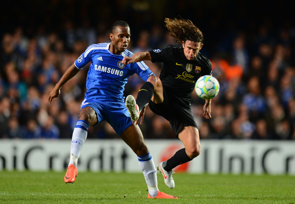 Carles Puyol cautious of Chelsea's counter-attacking threat
