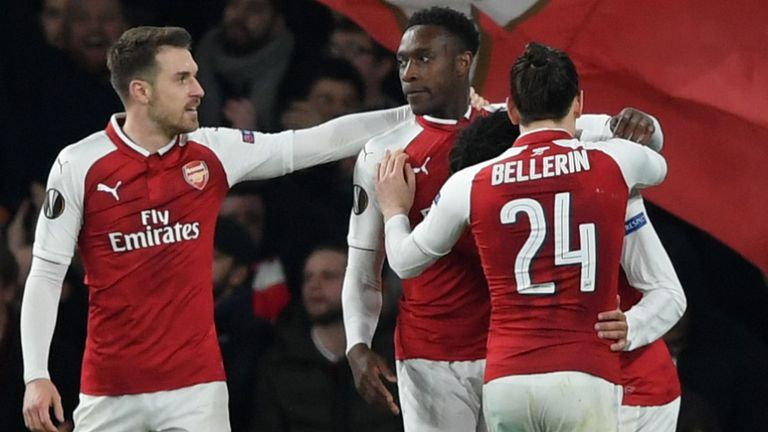Arsenal oust Milan to reach Europa Quaterfinals