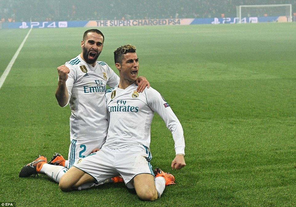 UEFA CL: Ronaldo stars again as Madrid show class in Paris