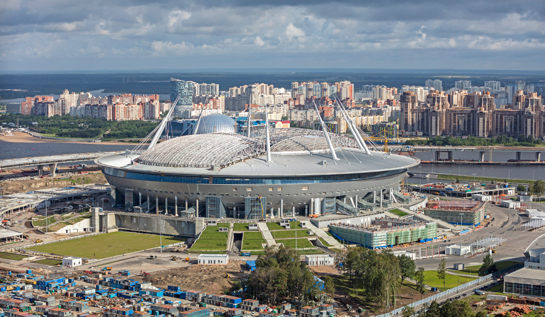 RUSSIA 2018: The Stadiums that will host Super Eagles group matches [Photos]