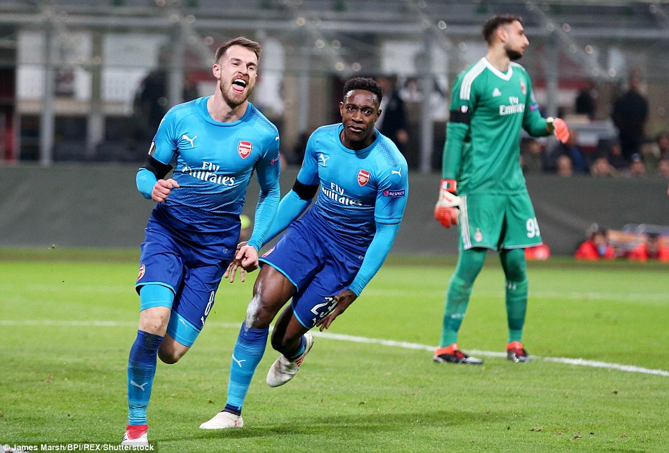AC Milan 0-2 Arsenal: Gunners return to winning ways in Europe