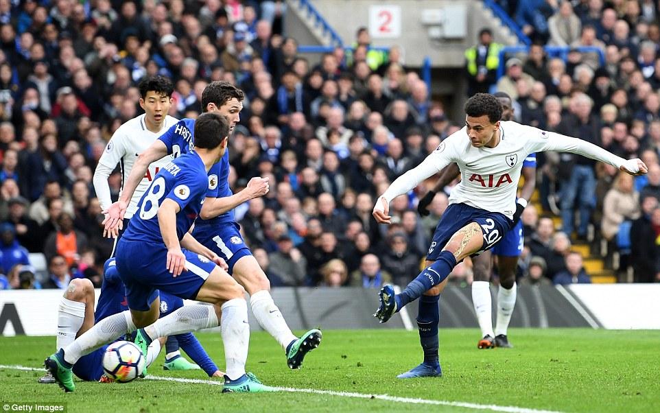 Chelsea 1-3 Tottenham: Dele Ali bags brace as Tottenham cement Top-Four spot
