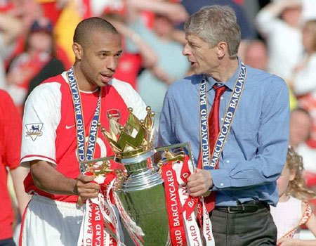 Wenger's Arsenal legacy untouchable, says Thierry Henry