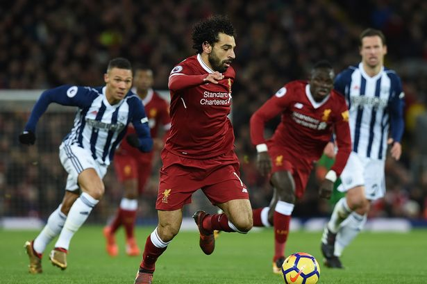 Goal No 31! Salah equals EPL record as Liverpool shares point with West Brom