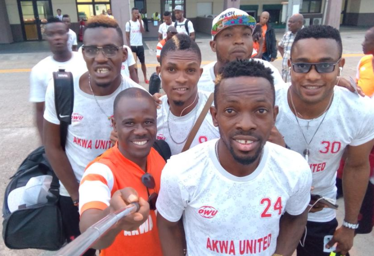 Akwa United complete Bizarre Round Trip to Sudan for Confederation Cup Match