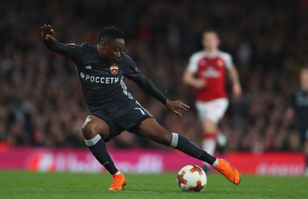 Europa League: Ahmed Musa Shines, but Arsenal destroys CSKA Moscow