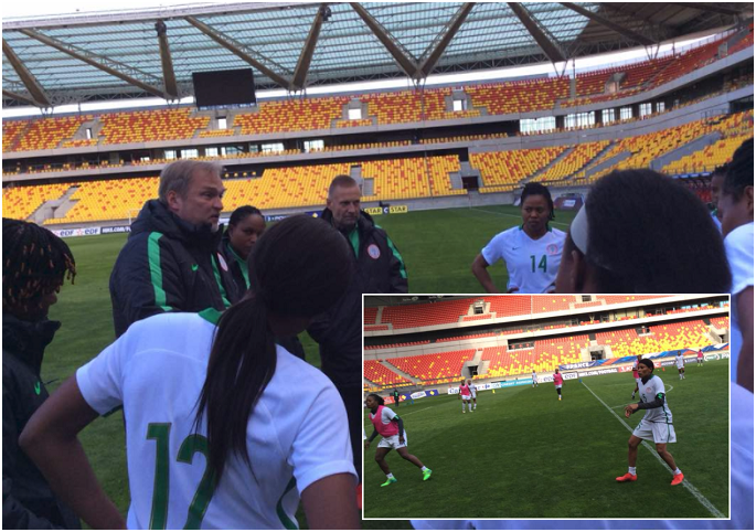 Super Falcons wrap up preparation for France test