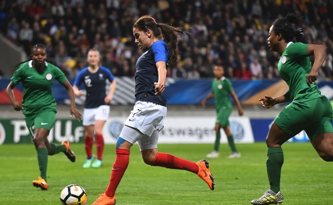 Super Falcons Midfield Star Tweets Strong Message After 8-0 Bashing against France