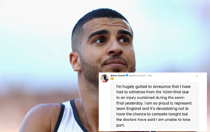 XXI CWG: Gemili out of 100m Final… Enoch, Ogunlewe's Medal chances Brighten Up