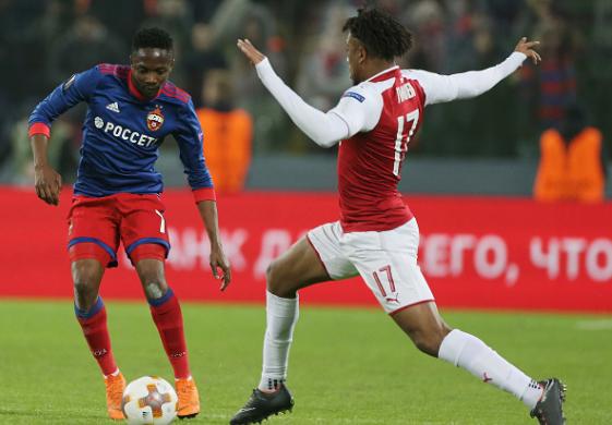 Iwobi First Nigerian to reach Europa League Semis in Five Years