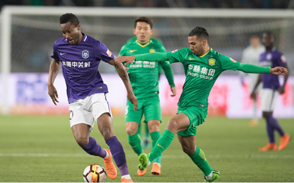 Mikel Open Season's Goal Account in Tianjin Teda 2-1 win