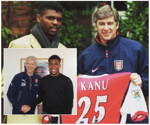 """""""Best Period of My Career"""", 'Forever Grateful' Kanu and Iwobi Pay Tributes to Wenger"""