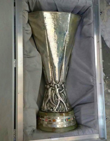 Stolen Europa League Trophy Found