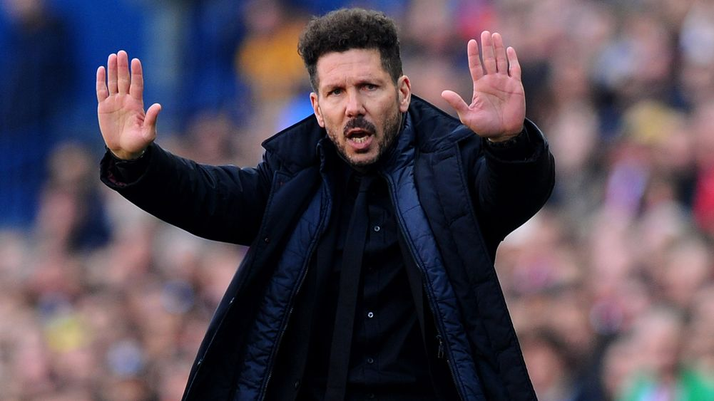 I'm happy in Madrid! Diego Simeone distances himself from Arsenal Job