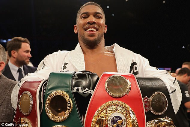 Anthony Joshua hoping for Wilder September Fight at Wembley
