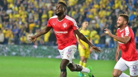 Bang, bang! John Ogu scores again for Hapoel in Isreal
