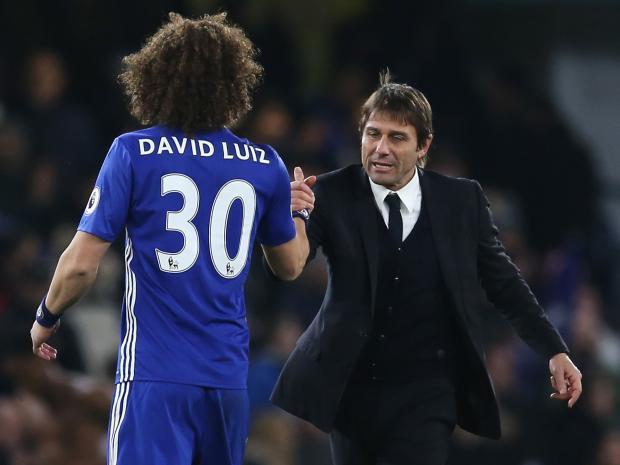 David Luiz very close to Chelsea return, Says Conte