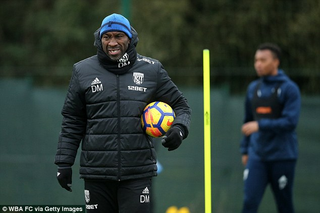 Darren Moore takes temporary charge as West Brom sack Pardew