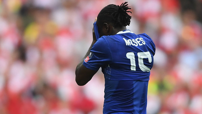 Conte refuses to blame Victor Moses for Tottenham's Equaliser