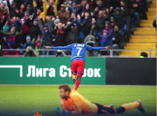 Musa bags Brace as CSKA Moscow produce 'Incredible' comeback win over Krasnodar