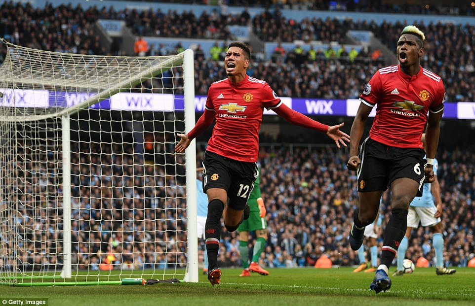 Man City 2-3 Man Utd: Pogba, Smalling inspire United's amazing comeback to delay City's title party