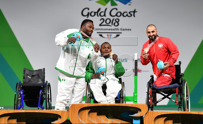 Commonwealth Games 2018: Ezuruike, Nwosu win Powerlifting Gold as Team Nigeria moves up Medals table